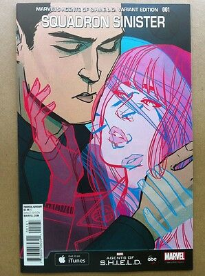 Squadron Sinister #1 Annie Wu 1:15 Agents Of Shield Variant Nm Secret Wars 2015
