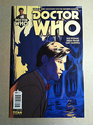 DOCTOR WHO 11th (2014) #3 TITAN 1:10 VARIANT COVER C by SIMON FRASER NM-