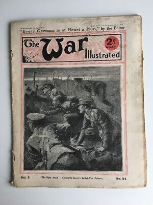 The War Illustrated Issue No. 54 August 1915 WW1 'The Night Attack'