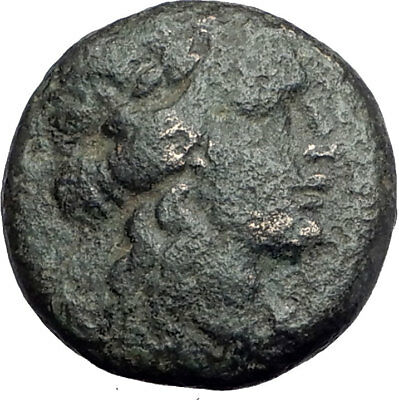 LARISSA Thessaly Ancient Greek Coin for THESSALIAN LEAGUE - APOLLO ATHENA i64430