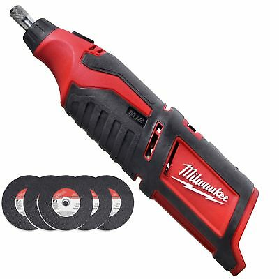 Milwaukee 2460-20 M12 12V Li-Ion Cordless Rotary Tool (Tool only)