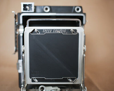 """New Lensboard Undrilled for Graflex 4x5"""" Pacemaker Speed/Crown Graphic"""