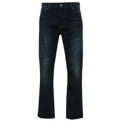 Firetrap Rom Jeans Cotton Junior Boys Trousers Pants 11-12Years (LB) Mid Wash
