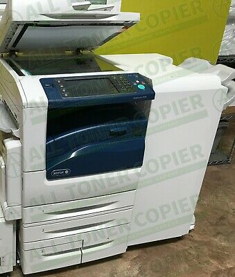 Xerox Workcentre 7970 70PPM Color Tabloid Printer Copier Scanner Finisher 250K
