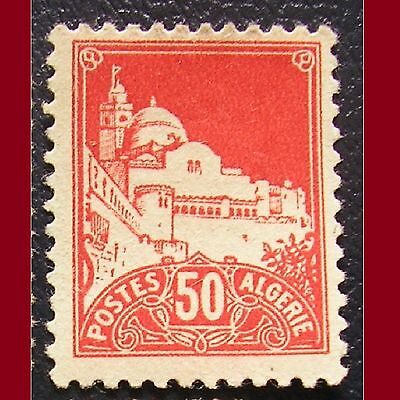 ARGELIA 1942. Yt 179 A. Mezquita Fisher. ROJO 50 cent. MNG