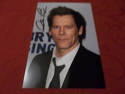 Kevin Bacon, Actor, Signed 6 X 4 Photo