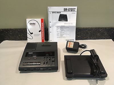 Sony BM87 REFURBISHED Standard Cassette 2 Speed with Accessories 90 Day Warranty