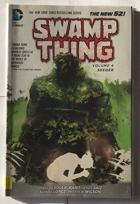 Swamp Thing volume 4 seeder the new 52 graphic novel EX-LIBRARY