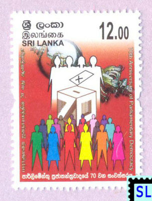 Sri Lanka Stamps 2017, Parliamentary Democracy, Sheetlet