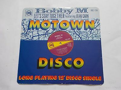 """Bobby M feat. Jean Carn - Let's Stay Together (12"""" Record)"""