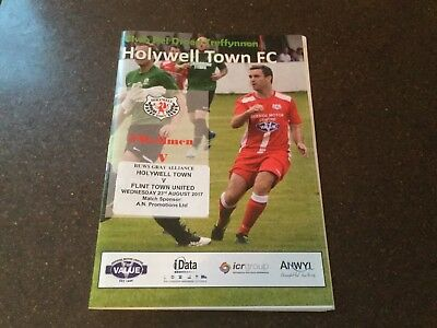Holywell Town V Flint Town United Huws Gray Alliance 2017/18 Welsh League