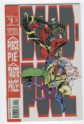 Deadpool #4 The Circle Chase VFNM