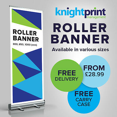 Roller Banner, Pop up Banner, Roll up banner, Pull up banner - Exhibition stand