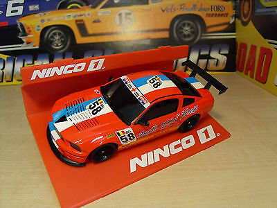 Ninco 55044 Ford Mustang 'DHL #58' - Brand New in Box