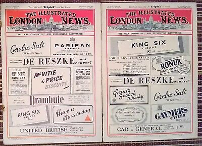 The Illustrated London News  Feb 15th + 22nd 1941  5313 + 5314