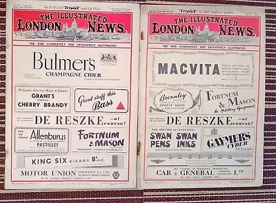 The Illustrated London News Feb 1st + May 31st 1941 5311 + 5328