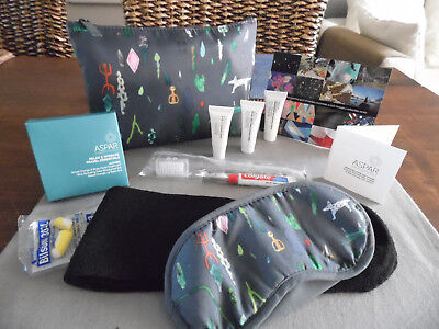 QANTAS Business Class ASPAR Amenity Kit Trousse Neceser Kulturbeutel