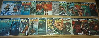 Aquaman Lot Rebirth #1, Vol 8 # 1 - 22 First Printing Some Variants VG