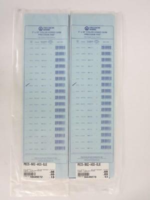 PRECISION BRAND MA52-44535-BLUE 10-PACK PLASTIC COLOR-CODED SHIM - 5 x 20