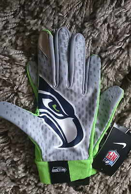 Seattle Seahawks NFL Stadium Gloves - XL Mens - BNWT