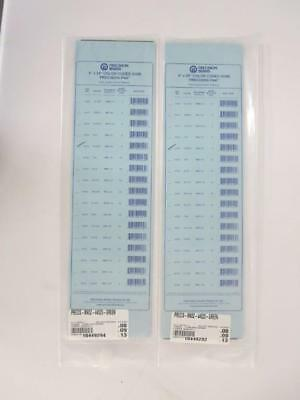 PRECISION BRAND MA52-44525-GREEN 5-PACK PLASTIC COLOR-CODED SHIM - 5 x 20