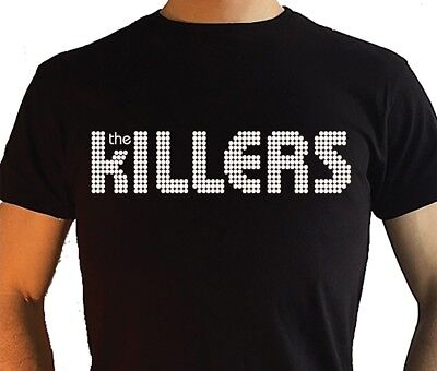 The Killers T Shirt logo Rock T shirt Mens Womens Child