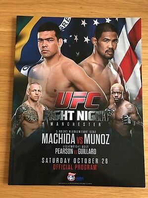 UFC Fight Night – Machida vs Munoz – Manchester 2013 – Official Program