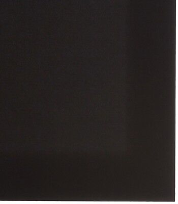 "KYDEX V Sheet - 0.080"" Thick, Black, 12"" x 12"" Nominal, 8PACK"