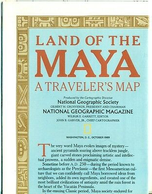 National Geographic Map Insert Lot #3 - Places - Asia+China - 12 Different Maps