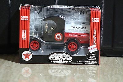 Gearbox 1912 Ford Oil Tanker Texaco Petroleum Products Die Cast Bank