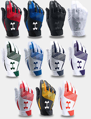 2018 Under Armour Men's UA Clean Up Baseball Softball Batting Gloves Adult