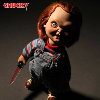 "Child's Play 15"" TALKING CHUCKY Mega scale figure with sound MEZCO Doll"