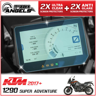4x KTM 1290 SUPER ADVENTURE Instrument Cluster/Dashboard/Speedo Screen Protector