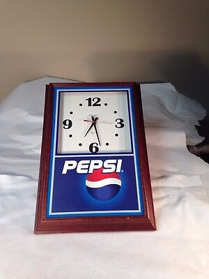 Advertising Marketing Pepsi Cola Clock