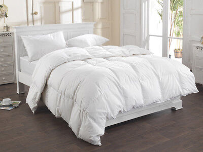 Duck Feather & Down Duvet / Quilt Bedding , All Sizes & All Tog Available New