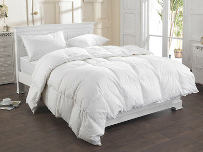 Luxury Hotel Quality Duck Feather & Down Duvet Quilt All Sizes 13.5 Tog 15 Tog