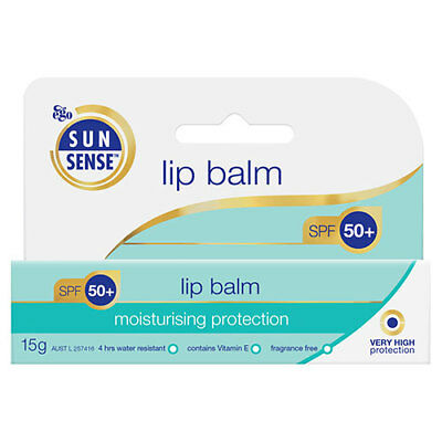 NEW Ego Sunsense Lip Balm SPF50 - 15g