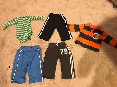 Baby Boy Winter Lot Size 6-9 Months