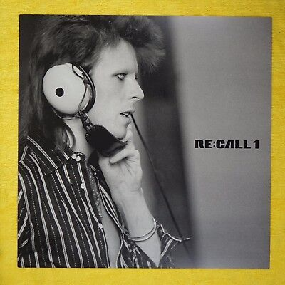 DAVID BOWIE PROMO POSTER 12x12 Re:Call 1 Record Album LP Photo Print Flat