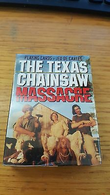 The Texas Chainsaw Massacre playing cards