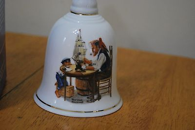 1985 Norman Rockwell Bell 6 1/4 inches For a Good Boy - MIB!!