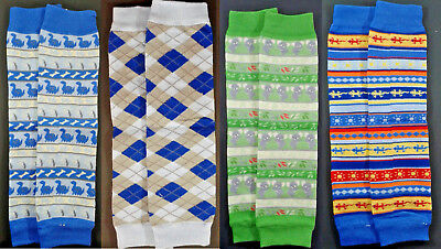 Lot Of 12 Pairs I Play Baby Organic Cotton Legwarmers One Size Fits Birth-24 Mo