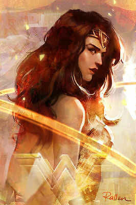 HD Print Wonder Woman Home Wall Art Deco Painting on Canvas No Frame 16 H514