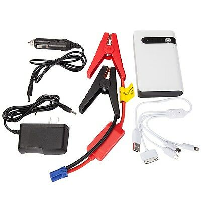 Portable 20000mAh Capacity Battery Booster Charger Jump Start Power Bank ToolSet