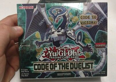 YuGiOh Code of the Duelist Booster Box - 1st Ed. COTD - Factory Sealed!