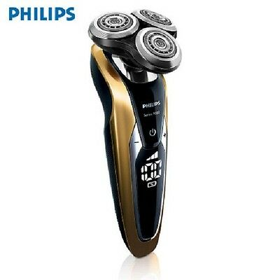 New Philips S9911 electric shaver Charge 3 head Golden shell washable