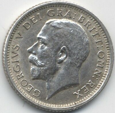 1925 George V Silver Sixpence***Collectors***UNC***