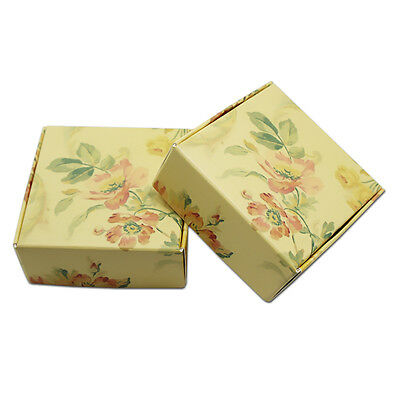 Kraft Paper Jewelry Candy Crafts Packing Box Wedding Favor Party Supply Reusable
