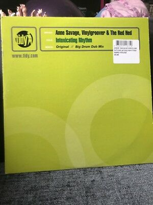 "Anne Savage, Vinylgroover & The Red Hed Intoxicating Rhythm Tidy Trax 12"" Vinyl"
