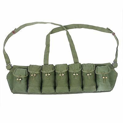 Surplus Vietnam War Chinese Type 63 Auto Chest Rig Ammo Pouch Military BAG